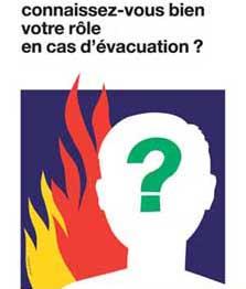 Formation à l'évacuation